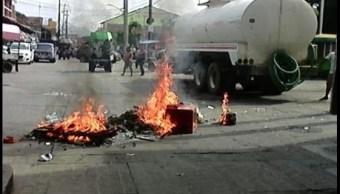 Protesta, Trabajadores, Servicio de Limpia, Paro Laboral
