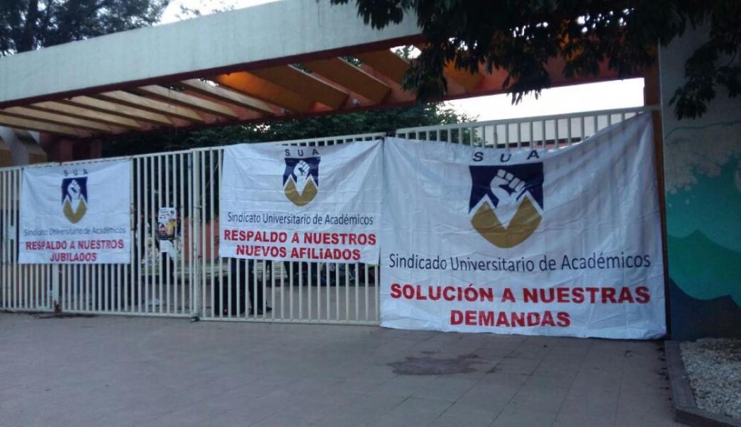 Protesta, Sindicato Universitario de Academicos, Paro, Protesta, Educacion