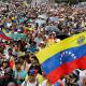 Protestas en Caracas contra el presidente de Venezuela, Nicolás Maduro