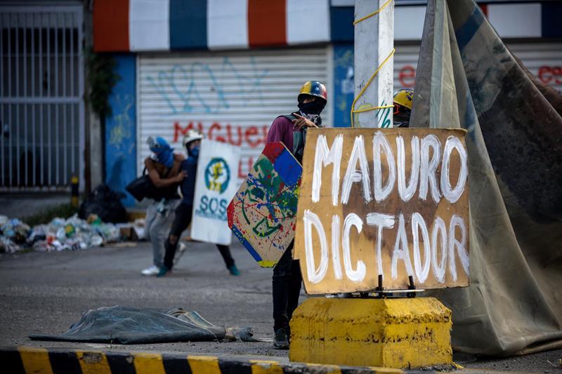 Protestas en contra de Nicolás Maduro