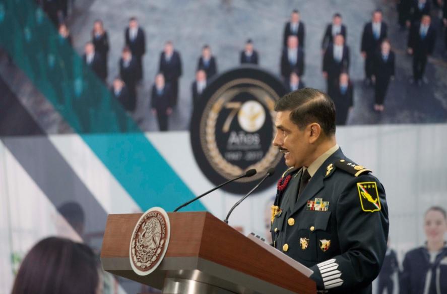 René Trujillo, director general de Banjercito. (Presidencia de la República)