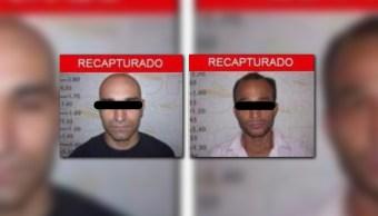 Autoridades de Chihuahua recaptura a dos reos de tamaulipas