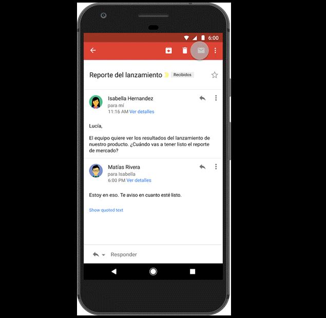 Respuestas predeterminadas de Gmail