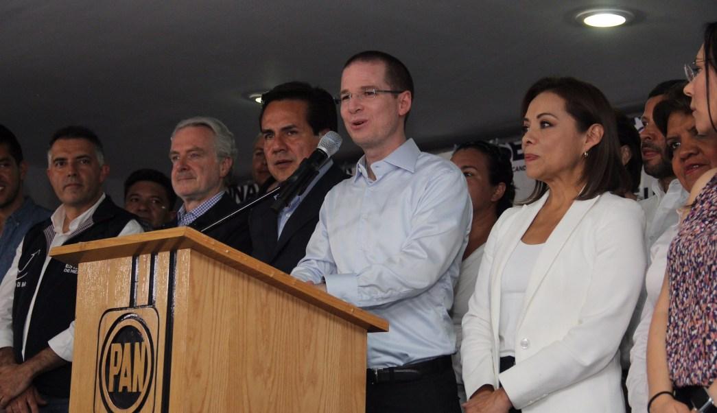 Ricardo Anaya, presidente nacional del PAN
