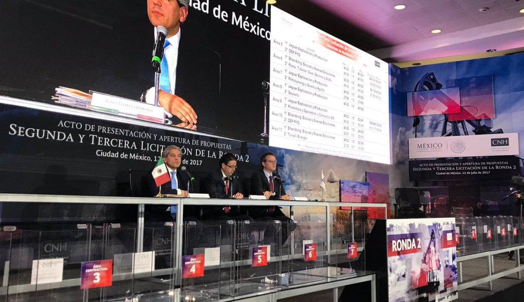 Ronda 2, CNH, licitaciones, 21 contratos, economía, hidrocarburos, México
