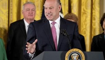 Trump, Gary Cohn, gabinete, Fed, Yellen, economía,