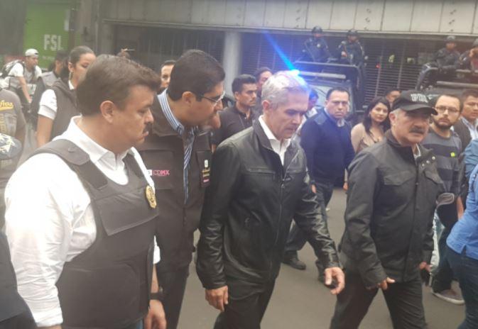 operativo verificación seguridad corredor roma condesa