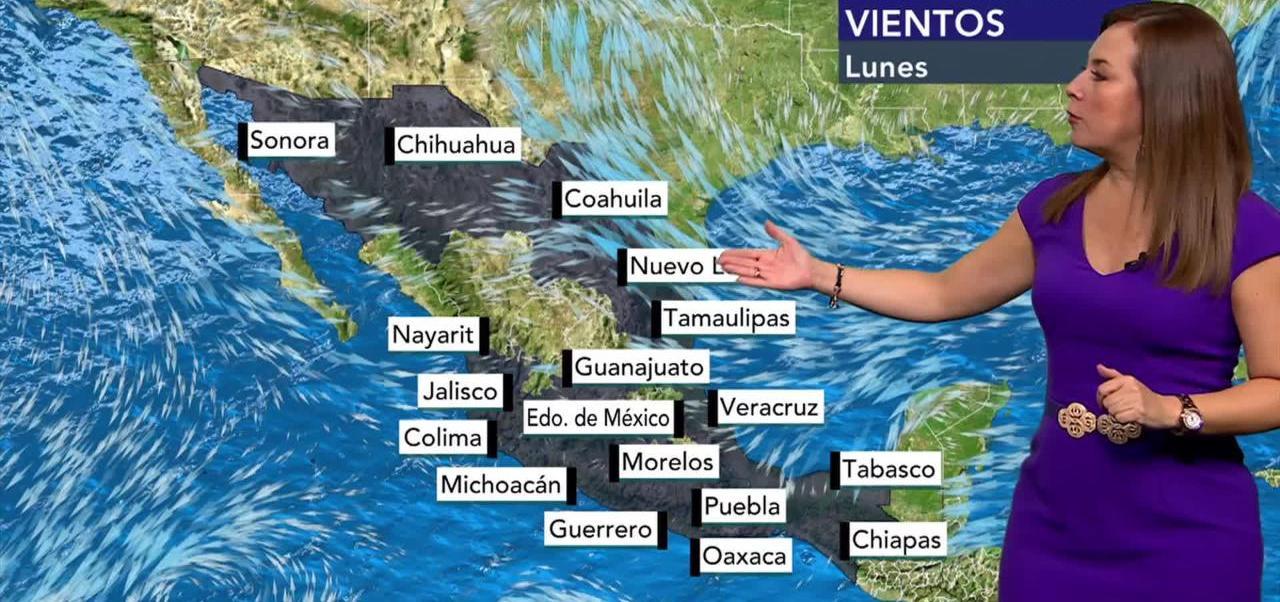 Tiempo al tiempo, Raquel Méndez, Onda tropical No.9, el clima
