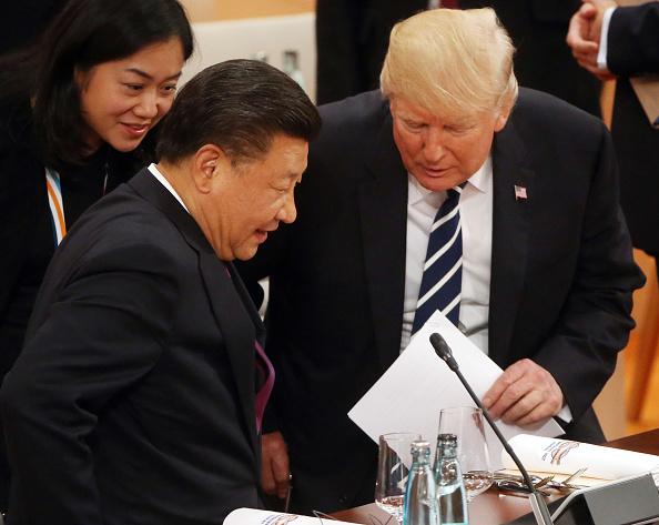 Donald Trump y Xi Jinping en la Cumbre del G20