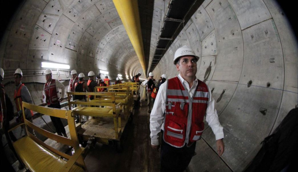 Tunel Emisor Oriente Longitud Conagua Valle