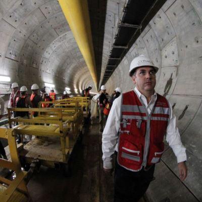 Túnel Emisor Oriente garantizará desagüe del Valle de México
