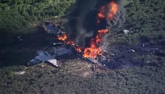 Accidente, aéreo, avión, militar, emergencia, Misisipi,