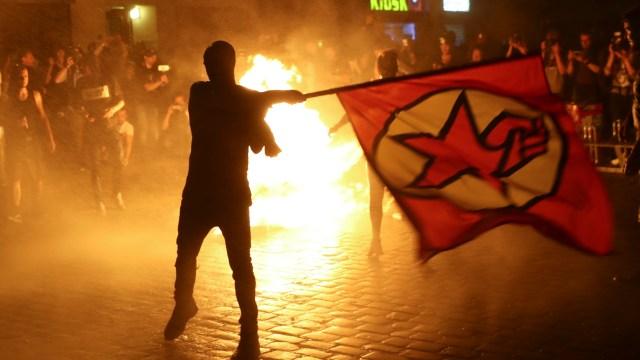 Enfrentamientos, Cumbre, G20, Hamburgo, manifestaciones, Policía,
