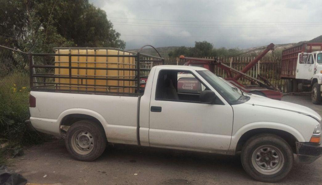 vehiculos asegurados por robo de combustible