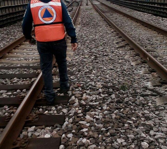 Vías del Metro de la Ciudad de México