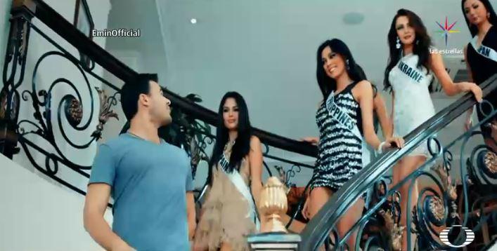 Video musical de Emin Agalarov con las Miss Universo y Donald Trump