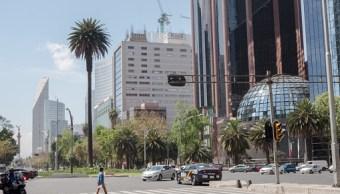 Vista de la Bolsa Mexicana de Valores