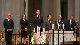 reyes españa misa memoria victimas atentados