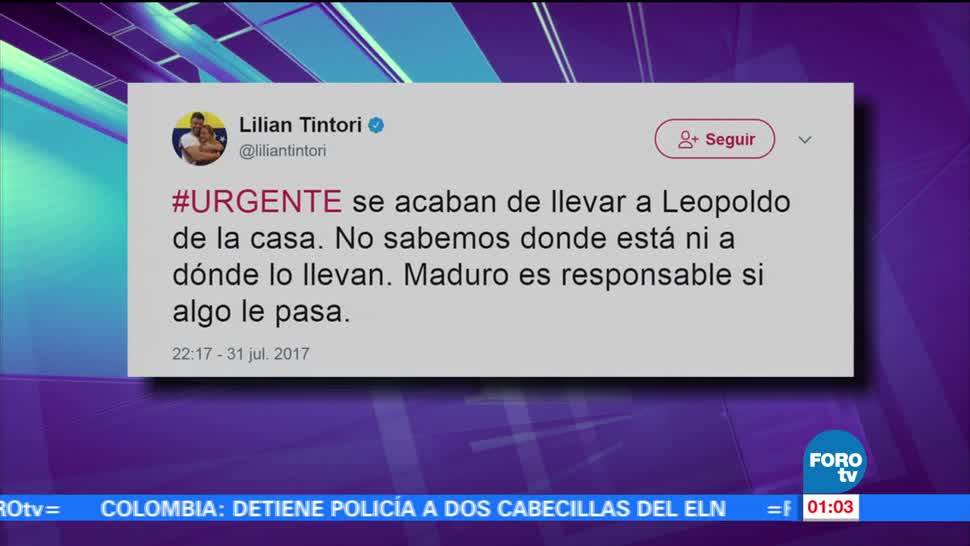 Sacan, Leopoldo López, casa