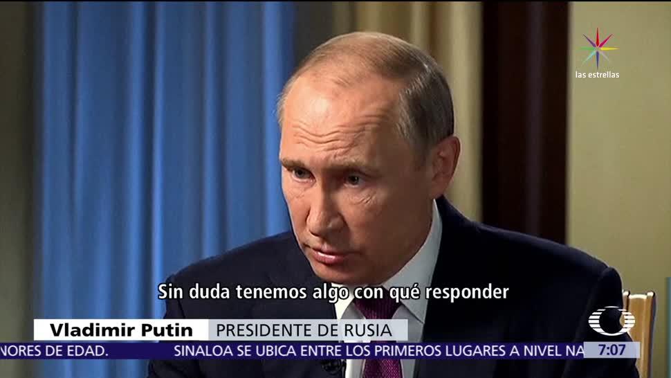 Putin Espera Colaboración Estados Unidos
