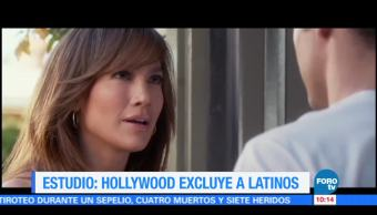 Hollywood, excluye, latinos, estudio