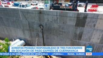 Avanzan Investigaciones Paso Express Cuernavaca Sfp Investigacion