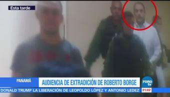 Audiencia extradición exgobernador Roberto Borge Panamá