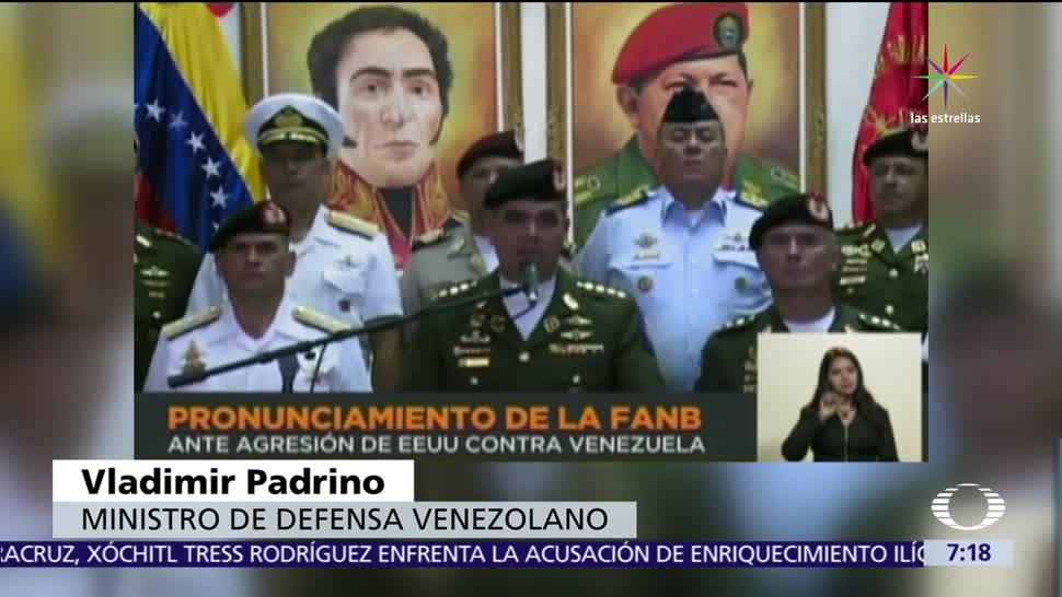 Fuerza Armada Venezuela Ratifica Nicolás Maduro