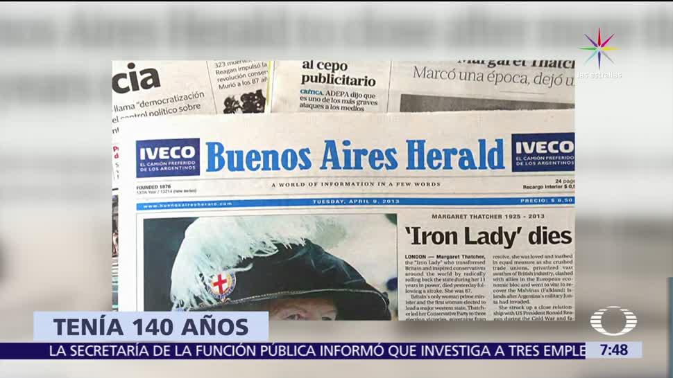 Deja Circular Diario Buenos Aires Herald