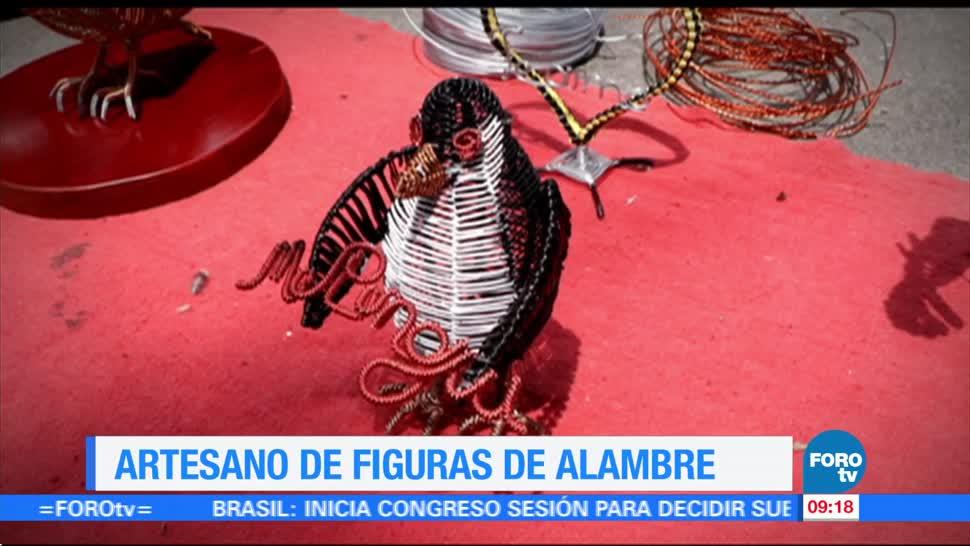 Artesano Figuras Alambre Enrique Muñoz