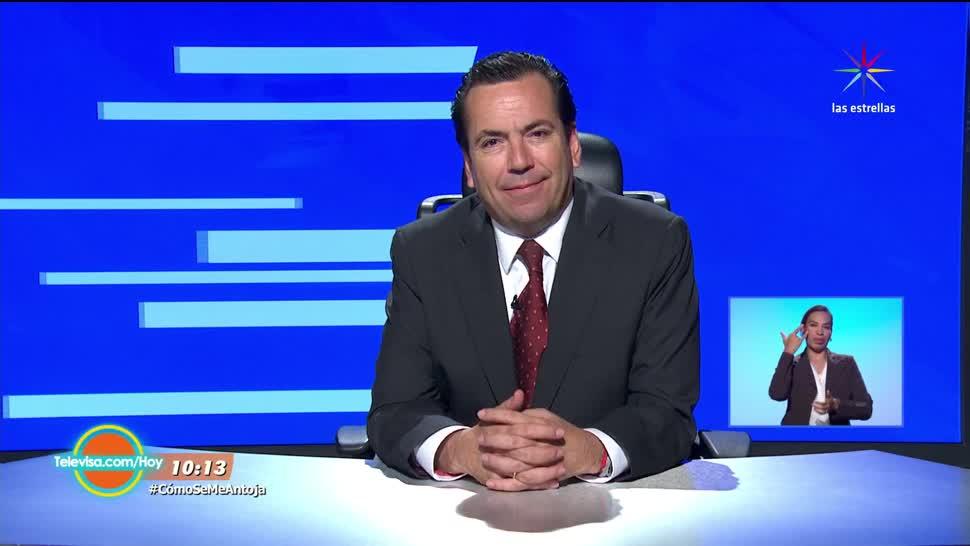 Las noticias, Hoy, Eduardo Salazar, Bloque 1