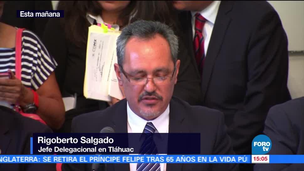 Comparece delegado Tláhuac Asamblea Legislativa CDMX