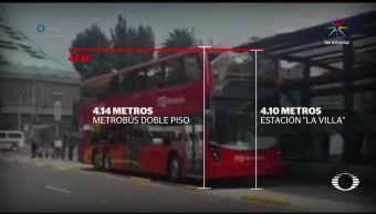 Dan estrenón nueva unidad del Metrobús