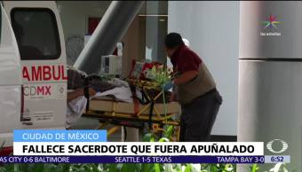 Muere, padre, apuñalado, Catedral