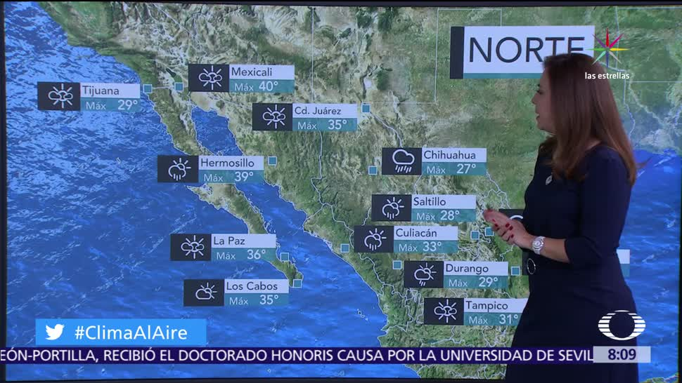Clima, Al Aire, tolvaneras, México