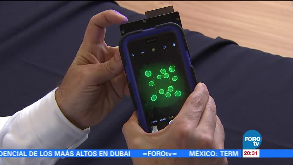 Crean sistema detectar enfermedades teléfono celular