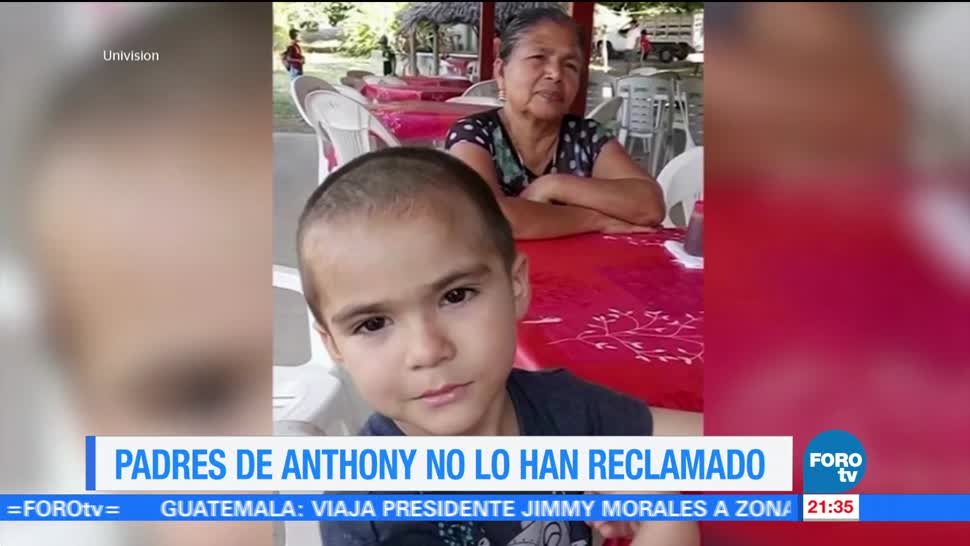 Padres Anthony no han reclamado PGJ