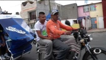 servicio Mototaxis Ecatepec estación colonias Metro