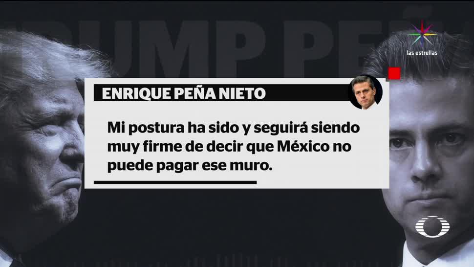 Así fue conversación presidencial EPN Trump