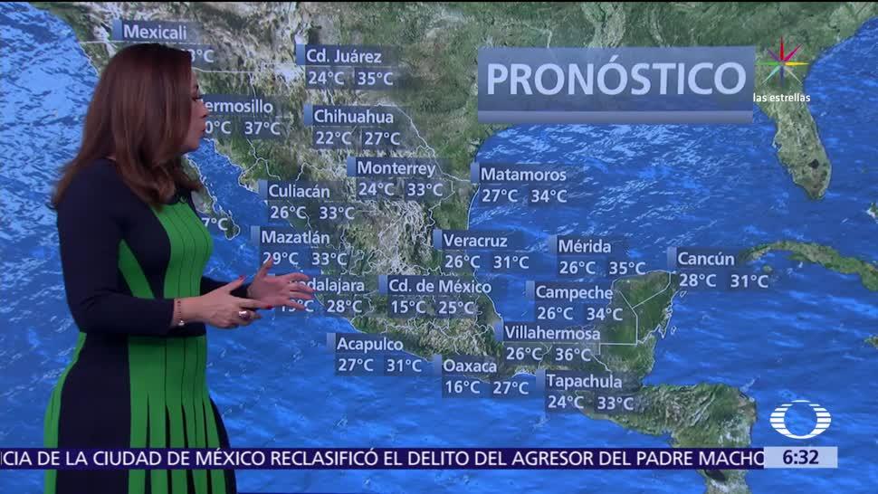Despierta Tiempo Potencial Tormentas Mayor Parte Mexico