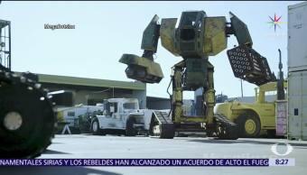 Septiembre Pelea Robots Gigantes