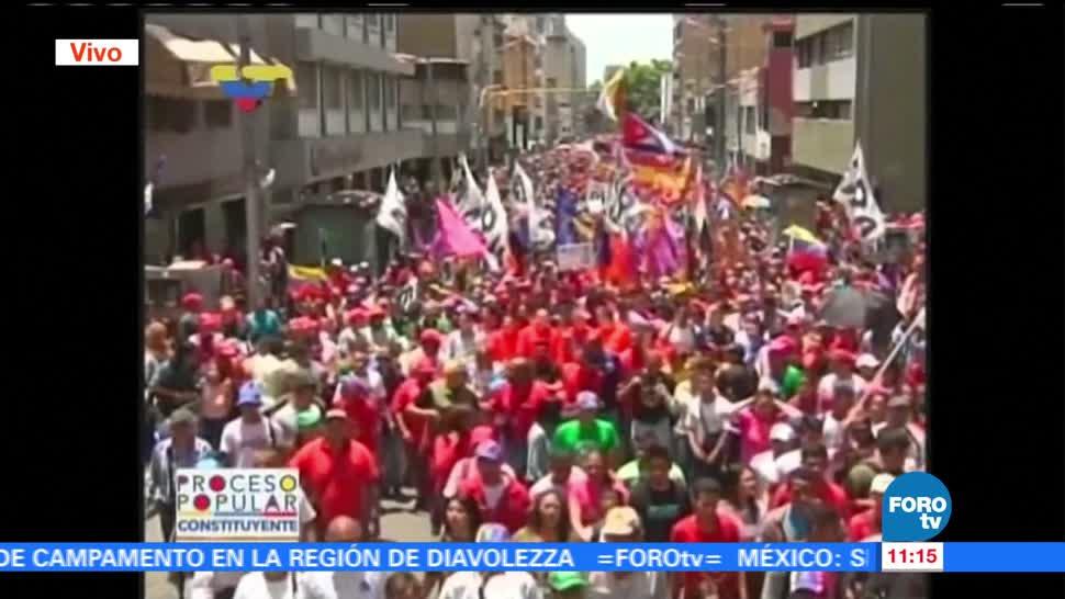 Chavistas Llegan Ceremonia Instalacion Asamblea Constituyente