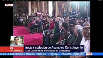 Inicia Acto Instalacion Polemica Constituyente Maduro