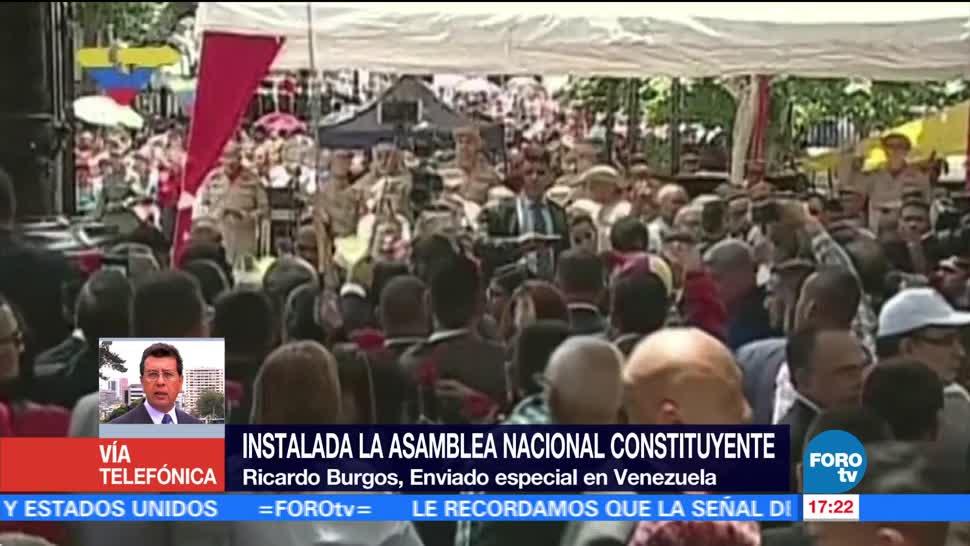 Opositores protestan instalación Asamblea constituyente Venezuela