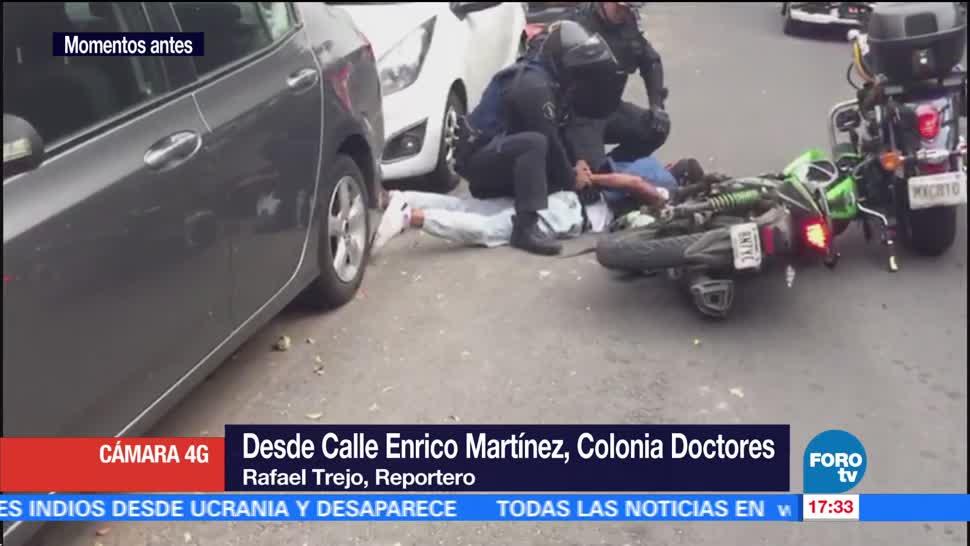 Policías Detienen dos sujetos asaltaron gasolinera