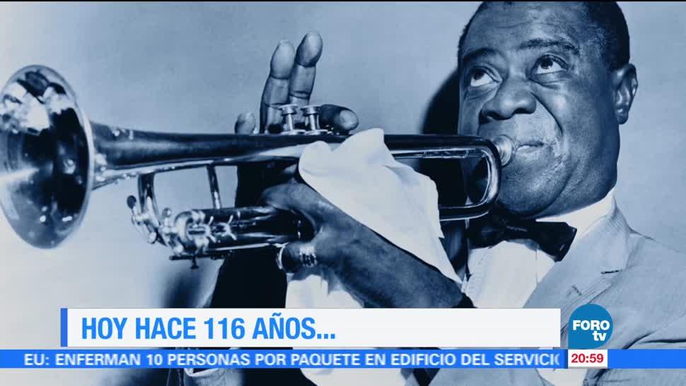 Efeméride En Una Hora: Louis Armstrong