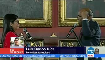 Destituyen Luisa Ortega Fiscal General Venezuela Asamblea Nacional Constituyente Tarec William Saab