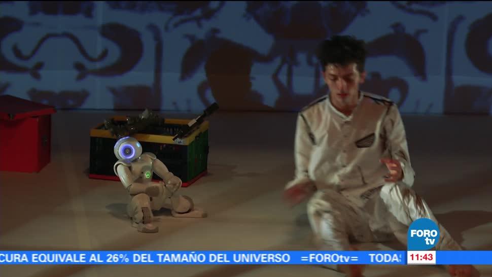 Robot Participa Obra Dancistica Saga Androides