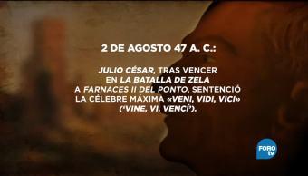Discurso Breve Historia Emperador Julio Cesar Anecdotario Secreto