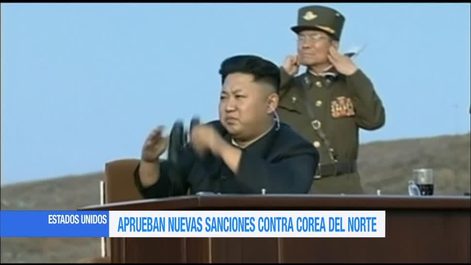 Aprueban nuevas sanciones contra Corea del Norte